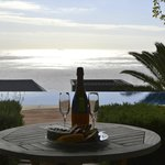 bubbly with a view...
