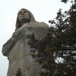 Loredo Taft's Eternal Indian (aka Black Hawk Statue) at Lowden State Park across river from inn