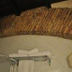 Arco romano en baño