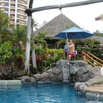 The pool swing