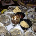 salty small oysters--delicious