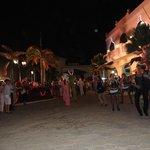 Carnaval, parade, feux d'artifice à la cubaine
