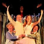 """The Fantasticks"" in Florida Rep's ArtStage Studio Theatre."