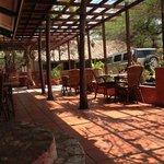 its terrace