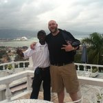 Maxi and I overlooking Montego Bay