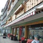 het terras 1eV Central Hotel Wolter