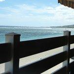 Vue depuis le restaurant en terrasse