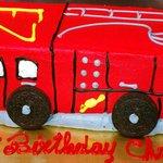 firezone 3D fire truckcake