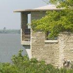 Overlook Point Gazebo...East of Dam