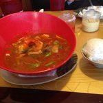 """spicy red curry-try """"combo"""""""