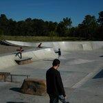 BMX Track and Skateboard park Foto