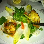 crab-stuffed sole & filet mignon in puff pastry