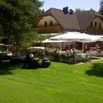 Lake house inn Bled