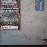 La cartelera de las actividades durante el Lollapalooza