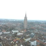 A view of Brugge from the Belfry