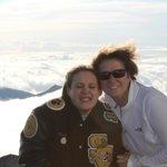 at the summit 10,000+ feet