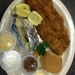 Fried Fish Plate