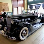 Black Packard Covertable