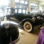 Black Packard Sedan