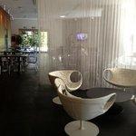 bar, lobby area
