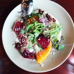 Heirloom Beet Salad w/Whipped Ricotta