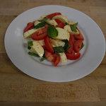 A Classic Italian Caprese Salad.