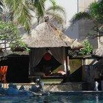 Main pool Cabana's