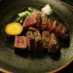 150gのステーキ(夕食)