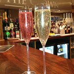 Bubbly at The Crown
