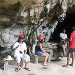 La caverna del parco delle tartarughe
