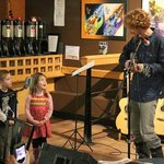 Children's music night often includes young performers