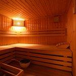 Sauna en supplément