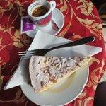 Espresso and pinenut cake