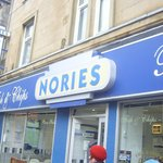 Nories, superb fish and chippy