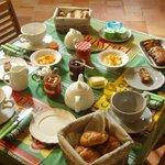 Petit déjeuner maison