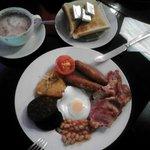 the excellent all day breakfast!