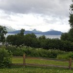 View from patio of Kachemak bay