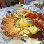 Delicious seafood platters