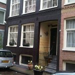 Amsterdam at Home - the main door leading to the Sweet Dreams 2 story apartment