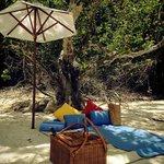 We had a picnic at Tavajun Bay