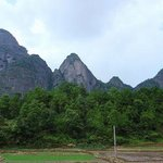 Mt. Duqiao Danxia Landform