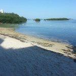 sehr kleiner Strandbereich