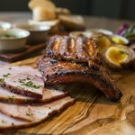 Our new sharing British pork platter