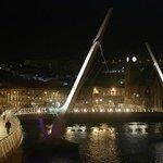 Peace Bridge view