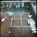 View from the room - Swimming pool