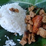 Breakfast - Nasi Ayam Rica Rica