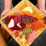 Sushi appetizer. DELICIOUS!!!