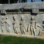 Aphrodisias tomb details