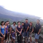 Kintamani overlooking the crater and lake Batur