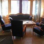 Villa Velhoranta living room